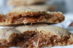 Leftover Halloween Candy Milk Dud Peanut Butter Cookies. These look ridiculously delicious and easy! Easy recipe to make as a treat.