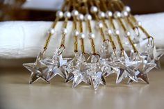star christmas ornaments, christmas decoration, christmas tree - more details here: https://www.etsy.com/shop/SimplyMadWeddings?section_id=14344381