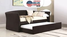 Create space for extra guests in your or guest room wi. Create space for Daybed With Trundle, Other Space, Create Space, Online Furniture, Space Saving, Home Office, Daybeds, Guest Rooms, Living Room