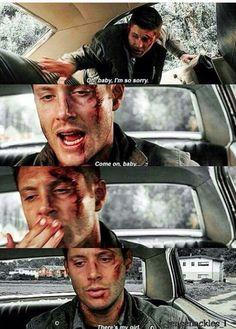 Dean Supernatural Pictures, Supernatural Destiel, Supernatural Seasons, Impala 67, Spn Memes, Cartoon As Anime, Sarada Uchiha, Winchester Boys, Super Natural