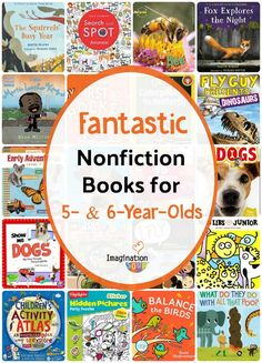 and beginning readers need to read nonfiction books, too. They'll practice different comprehension skills & learn how to read for information. Kindergarten Books, Preschool Books, Science Books, Book Activities, Nonfiction Books For Kids, Sports Illustrated Kids, Best Toddler Books, Good Books, Books To Read