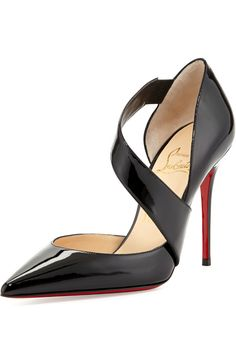Christian Louboutin ●  Cross-strap Pump