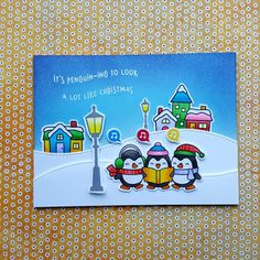 JOYFUL THINGS DESIGN: IT'S PENGUIN-ING TO LOOK A LOT LIKE CHRISTMAS (1)