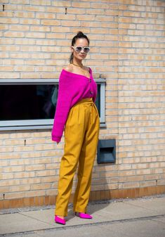 The best street style from Copenhagen Fashion Week Winter dressing tips from the Scandi style set Fashion 2020, Look Fashion, Spring Fashion, Fashion Outfits, Fashion Weeks, Milan Fashion, Colorful Outfits, Colorful Fashion, Street Style Stockholm