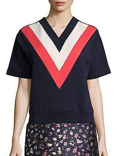 Tommy Hilfiger Collection Runway Track & Field Sweatshirt