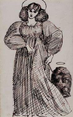 """""""Mrs. Morris and the Wombat"""" By Dante Gabriel Rossetti"""