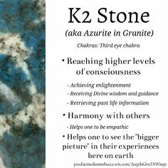 K2 stone crystal meaning