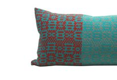 Handmade merino and cotton Urban Geometric pillow covers.  Shalamalam!