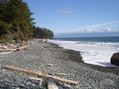 French Beach, Sooke, BC.  The entire Northern Pacific rim is reserved, and it's beautiful.  I have some property just above the Hoh Tribe.  The natives still trade beautiful handcrafts for goods.  It's another world.