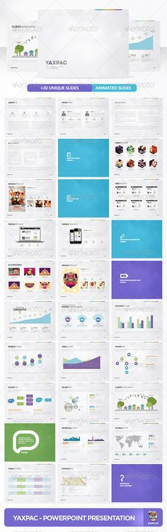 Yaxpac PowerPoint Presentation Template - Powerpoint Templates Presentation Templates