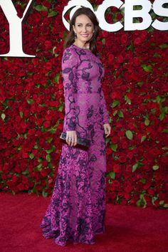What Broadway's biggest stars are wearing on the Tonys red carpet.