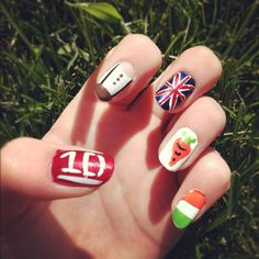 My One Direction nails