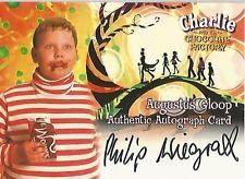 Autograph Card: Augustus Gloop