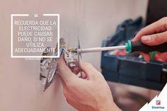 Usemos de forma adecuada la electricidad #EnsaTeInforma #ServiciosEnsa