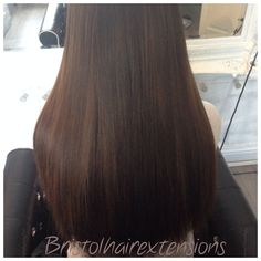 Full head of micro ring wefts #sleekstyleicon
