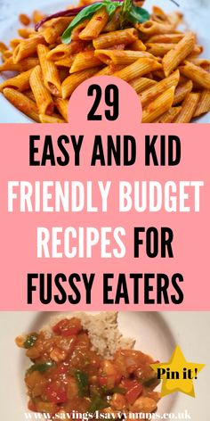 Easy and Kid Friendly Budget Recipes for Fussy Eaters That the Whole Family Will Enjoy - Savings 4 Savvy Mums meals kid friendly healthy Fun Easy Recipes, Budget Recipes, Budget Meals, New Recipes, Dinner Recipes, Weeknight Recipes, Family Recipes, Delicious Recipes, Family Meal Planning