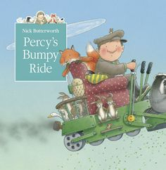 Booktopia has Percy's Bumpy Ride, Tales from Percy's Park Series by Nick Butterworth. Buy a discounted Paperback of Percy's Bumpy Ride online from Australia's leading online bookstore. Percy The Park Keeper, Butterworth, Nursery School, World Of Books, Bedtime Stories, Children's Book Illustration, Woodland Animals, Childrens Books, Illustrators