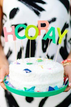 hooray cake