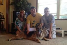 Furry family member lost for five years returns home!