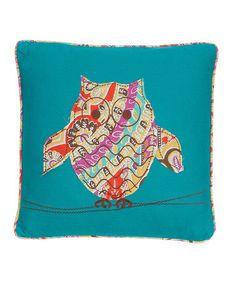 This Casablanca Owl Throw Pillow is perfect! #zulilyfinds