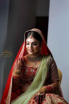 "Photo from Kailash Production Wedding Photography ""Wedding photography"" album Saree Gown, Lehenga Saree, Lehenga Wedding, Indian Wedding Outfits, Wedding Preparation, Bridal Looks, Her Style, Wedding Day, Wedding Photography"