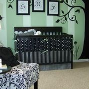 Nursery Kids Design Ideas, Pictures, Remodel and Decor.  Maybe some mustard accents?