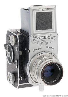 Ihagee: Exakta 66 (vertical) (1948) camera