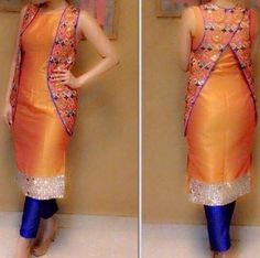 Traditional Raw Silk Suit
