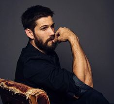 Casey Deidrick (Born April is an American Actor and Singer. Casey Deidrick, Dream Hair, Hair And Beard Styles, Attractive Men, Male Beauty, Bearded Men, Dark Hair, Celebrity Crush, Cute Boys