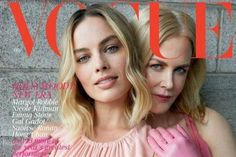 British Vogue cover shows Nicole Kidman and Margot Robbie while saying 'we need to talk about race'   British Vogue has come under fire for its latest cover which readers have criticised as disappointing.  Following the appointment of Edward Enninful as editor-in-chief last year it was hoped that British Vogue would offer more diversity within its pages  something it became known for lacking under the reign of previous editor Alexandra Shulman.  And while Enninful - the first black male and…