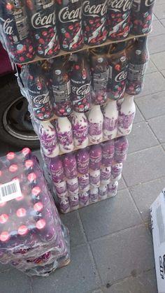 New 3 pcs Alu aluminium Coca-Cola Coke set from Hungary #CocaCoca