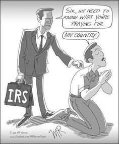 IRS: 'Explain the Content of Your Prayers'