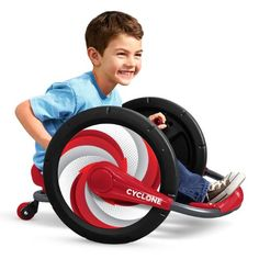 Radio Flyer Cyclone™ Provides Modern Take on Classic Kid-Powered Toy, Offering a Fun, Healthy Way to Ride and Play