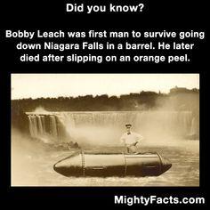 Bobby Leach