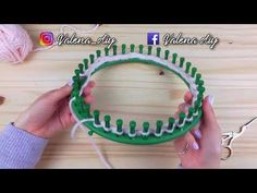 How to knit a circle round loom New ideas Round Loom Knitting, Loom Knitting Stitches, Knitting Basics, Loom Knitting Projects, Knifty Knitter, Knitting Videos, Loom Bands, Loom Patterns, Baby Knitting Patterns