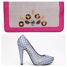 Handbag edicion especial-pieza unica y stiletto coleccion Lounge. Siboney Designer Collection by Titina Penzini