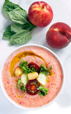 This Spanish-style Roasted Peach and Tomato Gazpacho is made from tomatoes and other vegetables and traditionally served cold. Ole! Happy Cinco de Mayo, friends! May the fourth be with you has come and gone, and it's time to celebrate tacos, guacamole, chips, salsa, this gazpacho and all of the other wonderful things that the Spanish culture brings this...Read More »
