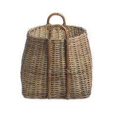 Store your home accessories in style with this luxurious square basket from Nkuku. Made from natural rattan, this delightful basket features two sturdy handles to easily manoeuvre around the home. ...
