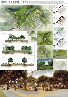 3rd Year Wakefield New Zealand Landscape Project. New Forest Park. I picked the Northern most area of the site dealing with the river and trying to create more Urban like walkways along the river to improve circulation and connections whilst creating public/ private spaces generated by increased vegetation boosting the ecology. Project 5 of 5 Individual Part 1