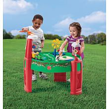A tractor/farm sand and water table! $54.99 @ Toys R Us....maybe this one, idk