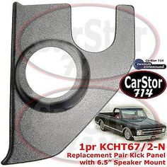 #Custom #autosound kcht-67/2-n kickpanel/no #speakers 67-72 chevy/gmc pickup truc,  View more on the LINK: 	http://www.zeppy.io/product/gb/2/281749587280/