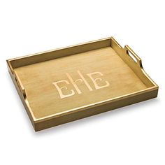Get a plain wooden tray. Paint, decopage, stencil.... Imaginate. Use it to corral most anything.