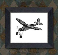 Airplane print - Etsy - $3