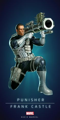 #Punished #Fan #Art. (PUNISHER - FRANK CASTLE IN: MARVEL'S PUZZLE QUEST!) BY: AMADEUS CHO! (THE * 5 * STÅR * ÅWARD * OF: * AW YEAH, IT'S MAJOR ÅWESOMENESS!!!™) [THANK U 4 PINNING!!!<·><]<©>ÅÅÅ+(OB4E)(IT'S THE MOST ADDICTING GAME ON THE PLANET, YOU HAVE BEEN WARNED!!!)