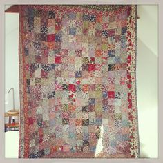 Quilt made from Liberty print fabric scraps - Pomp and Ceremony, Toronto