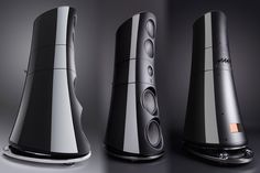 Magico's $750K M9 speakers stand over 6 feet tall, look intimidating as hell High End Speakers, High End Audio, Loudspeaker Enclosure, Floor Standing Speakers, Speaker Stands, Harley Davidson Touring, Digital Trends, Audio Equipment, Technology Gadgets