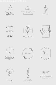 Organic product brand logo vector collection premium image by sasi Logo Branding, Branding Design, Brand Logo Design, Product Branding, Product Logo, Free Logo Design, Logo Design Tips, Logo Desing, Bakery Logo Design