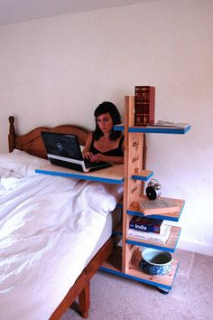 adjustable bed shelf  See it. Believe it. Do it. Watch thousands of SCI videos at SPINALpedia.com