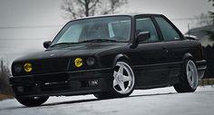 "BMW E30 325i M-TECHNIC II AZEV 17"" RARYTAS!!!"