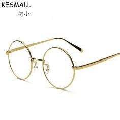 96ce26e4d4050 2017 Fashion Optical Glasses Frame Women Men Myopia Glasses Frames Round  Cycle Oculos De Grau Mens Computer Glasses Frame YJ394-in Eyewear Frames  from ...